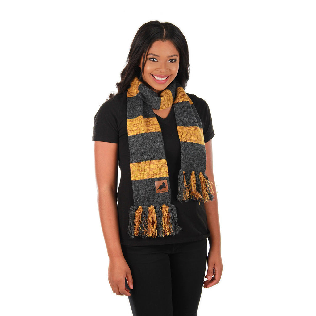 Hufflepuff Heathered Knit Scarf