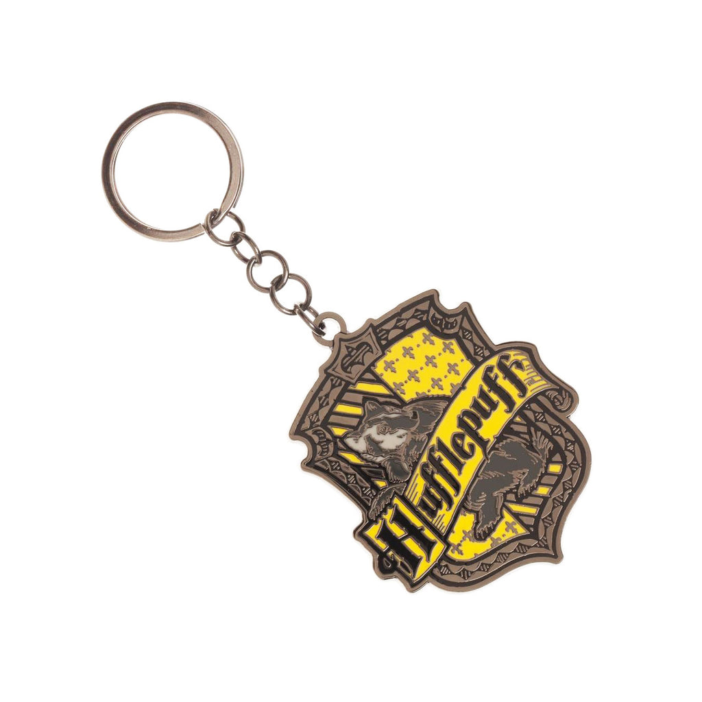 Hufflepuff House Key Ring