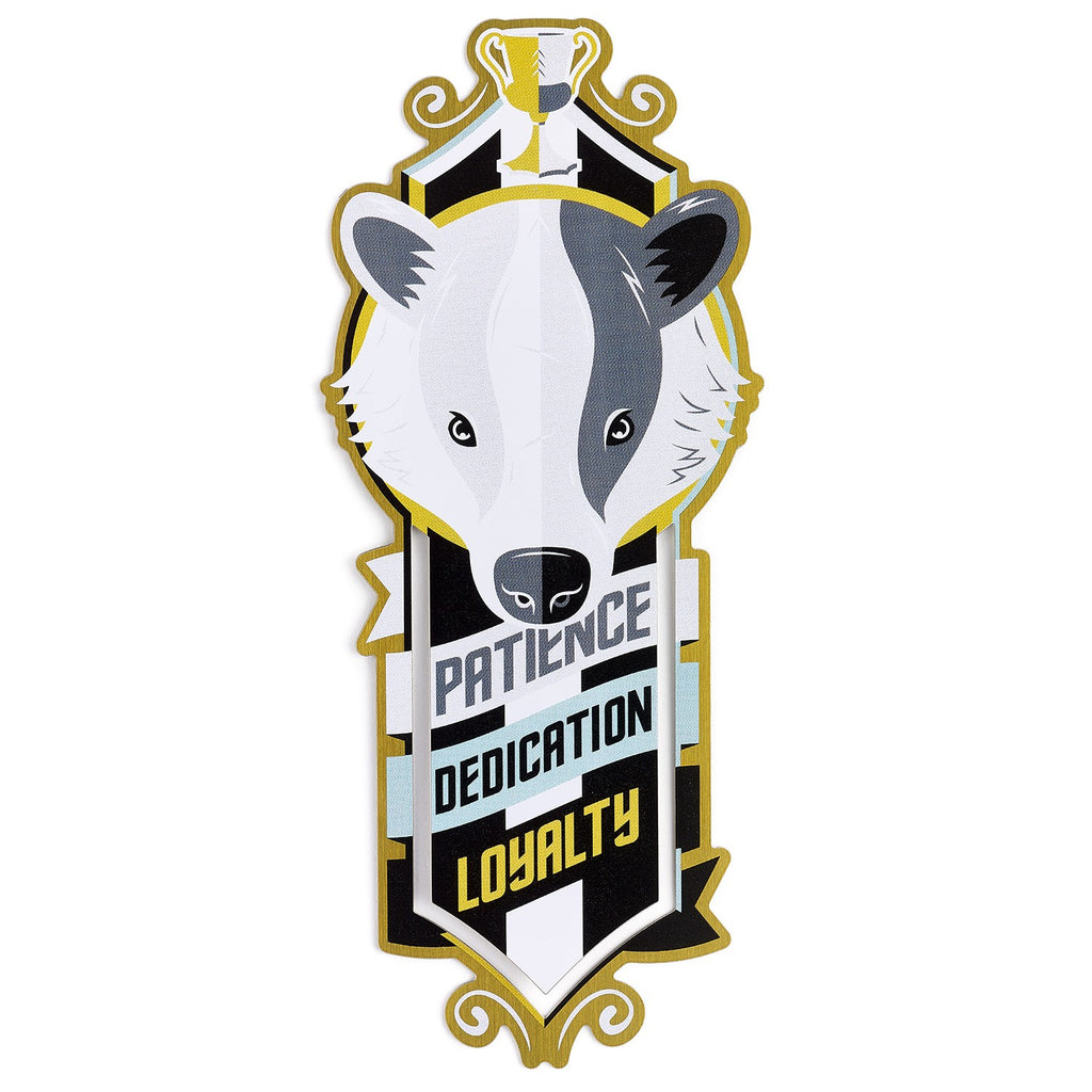 Hufflepuff Metal Bookmark