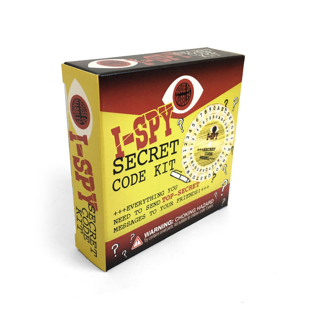 i-Spy Secret Code Kit