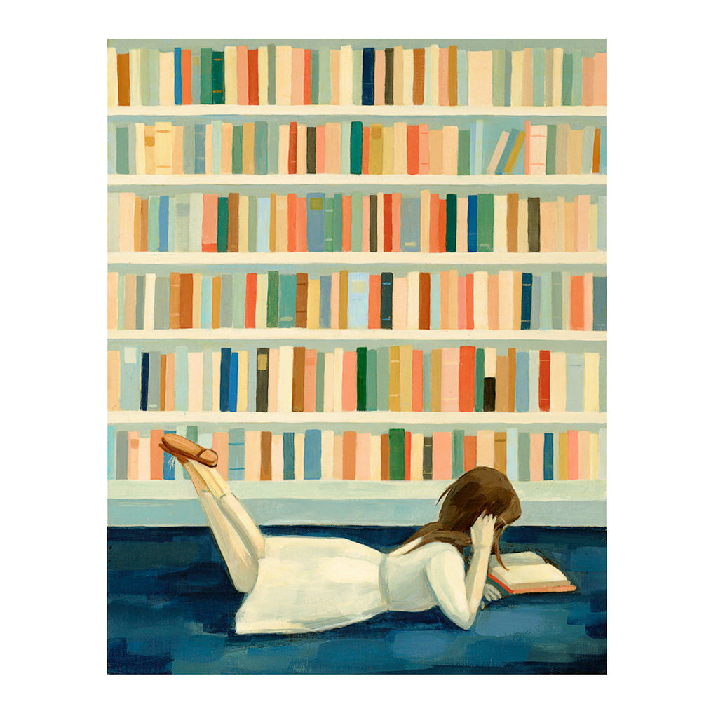 Emily Martin - I Saw Her in the Library Print