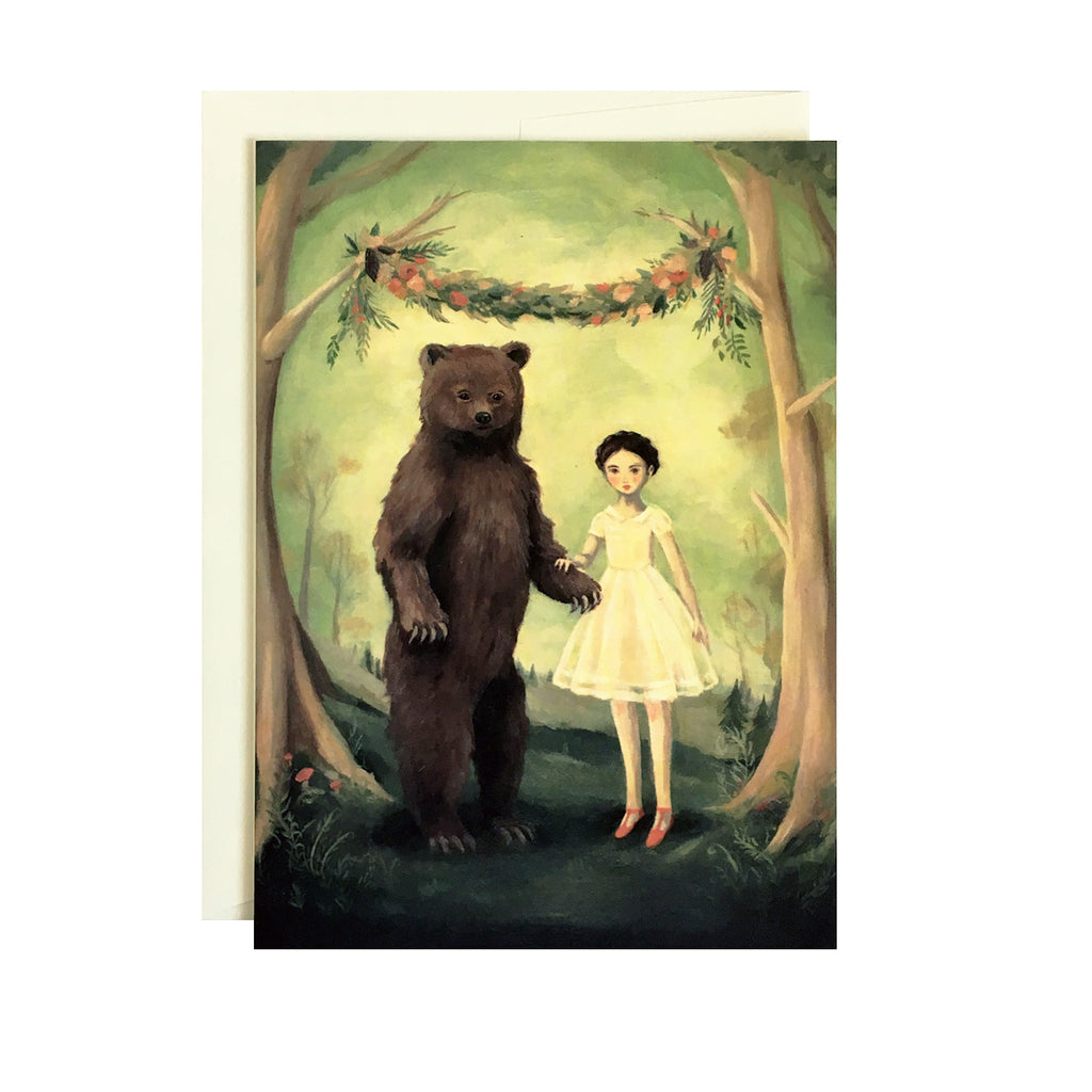 Emily Martin - In the Spring, She Married a Bear Card