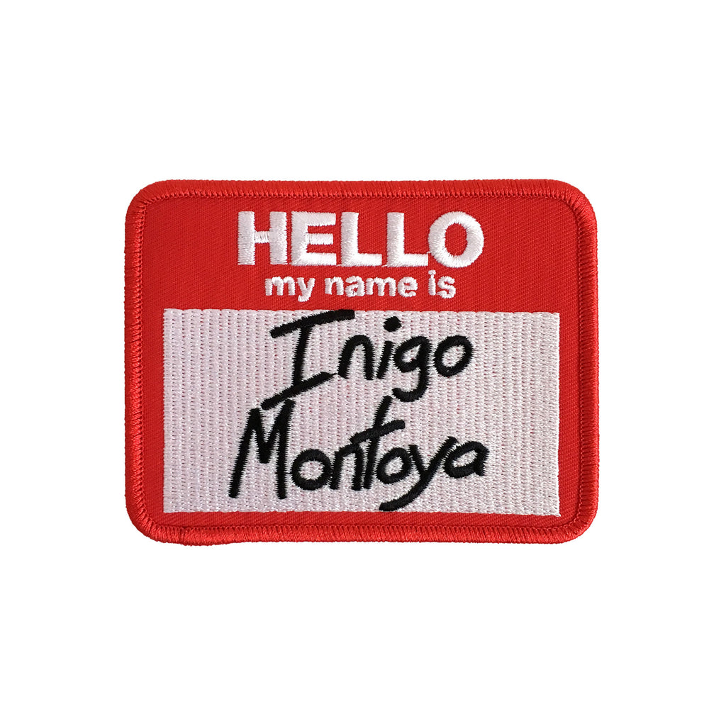 Inigo Montoya Iron-On Patch