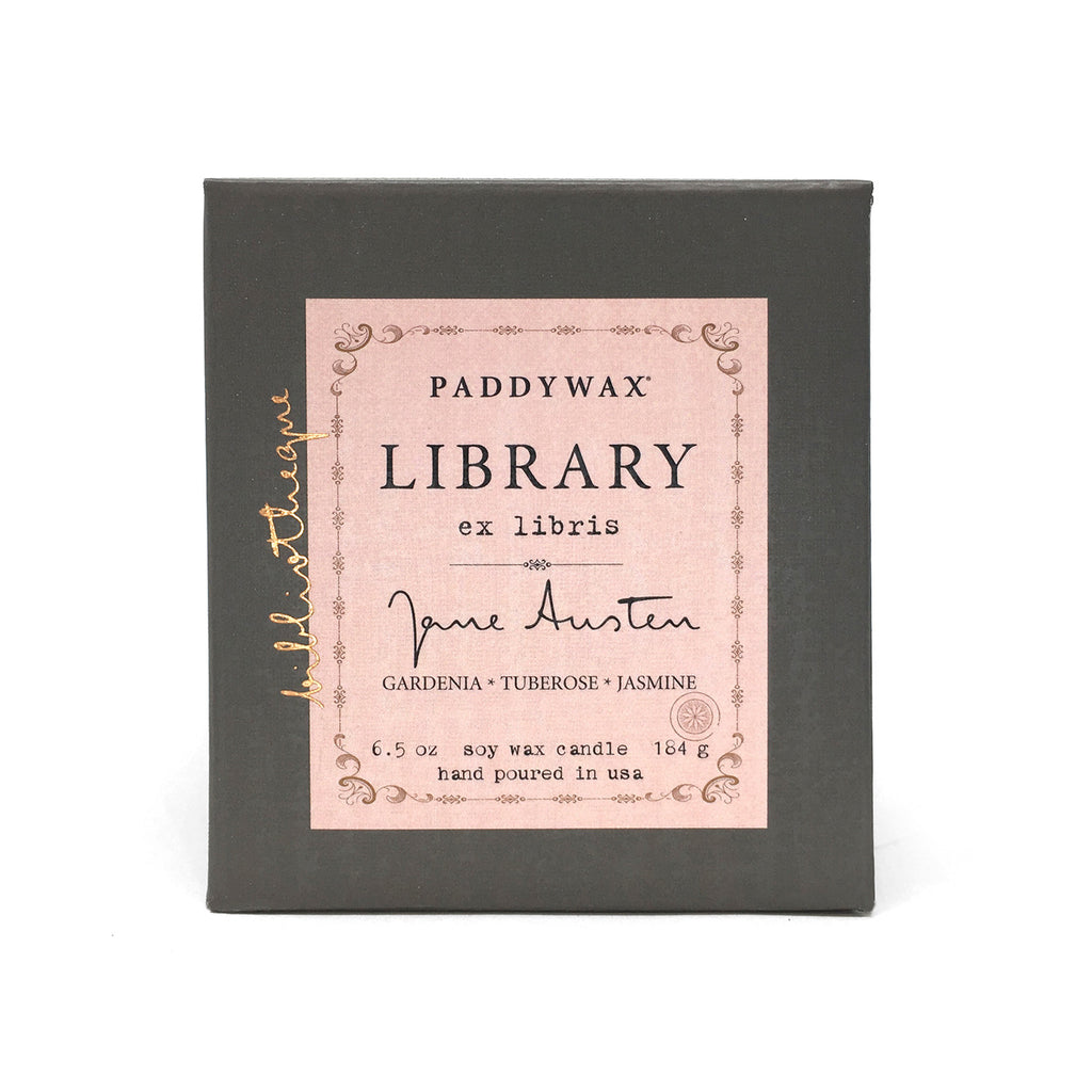 Library Soy Wax Candle - Jane Austen