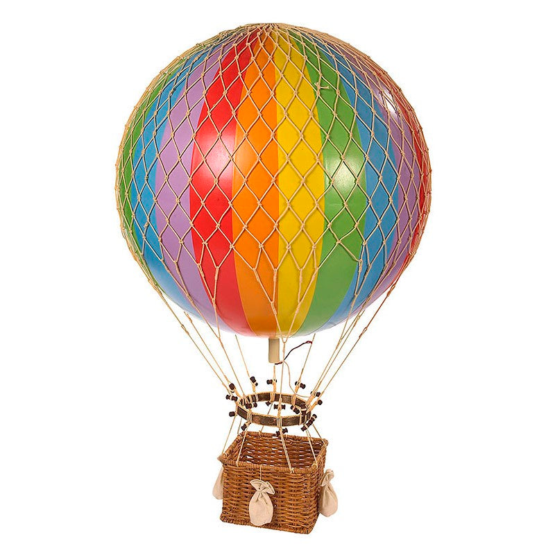 Jules Verne Hot Air Balloon - Rainbow
