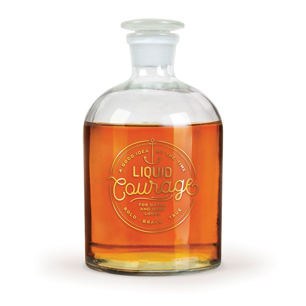 Liquid Courage Decanter