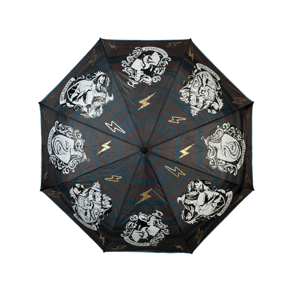 Hogwarts House Crest Liquid Reactive Umbrella
