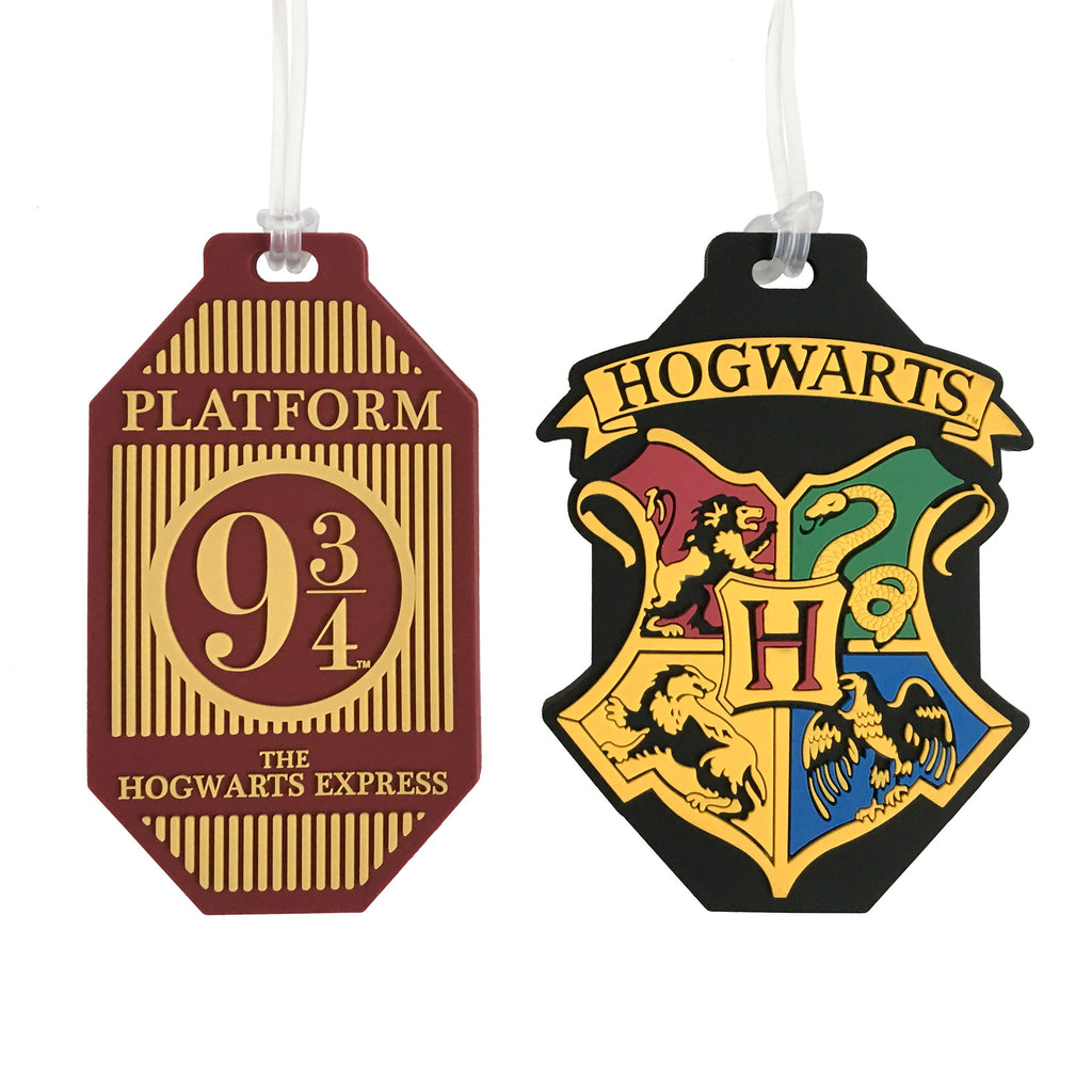 Hogwarts Luggage Tags - 2 Pack