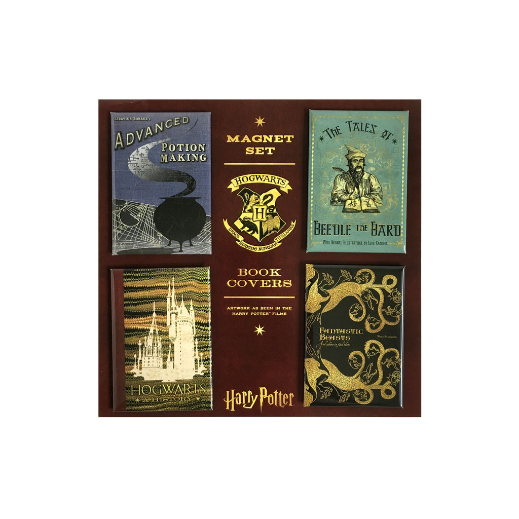 Hogwarts Book Covers Magnet Set