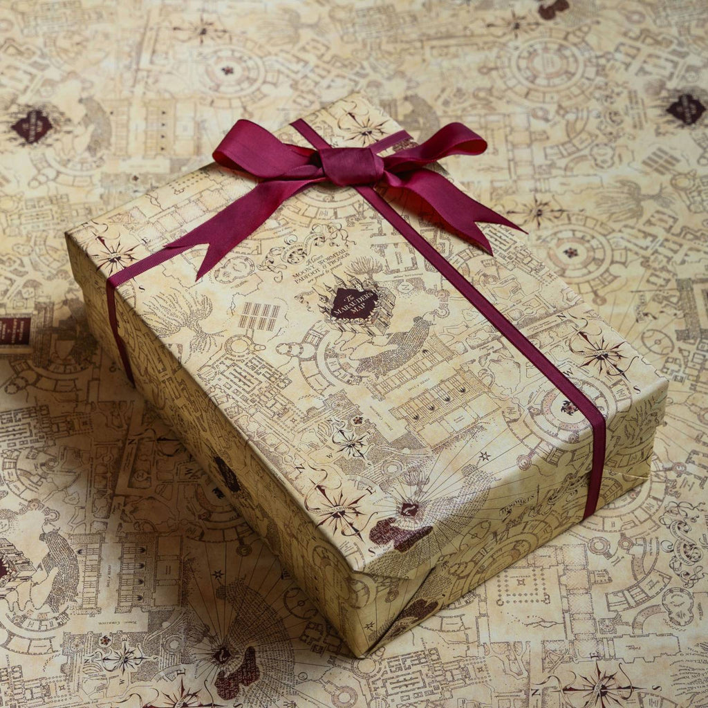 The Marauder's Map Gift Wrap