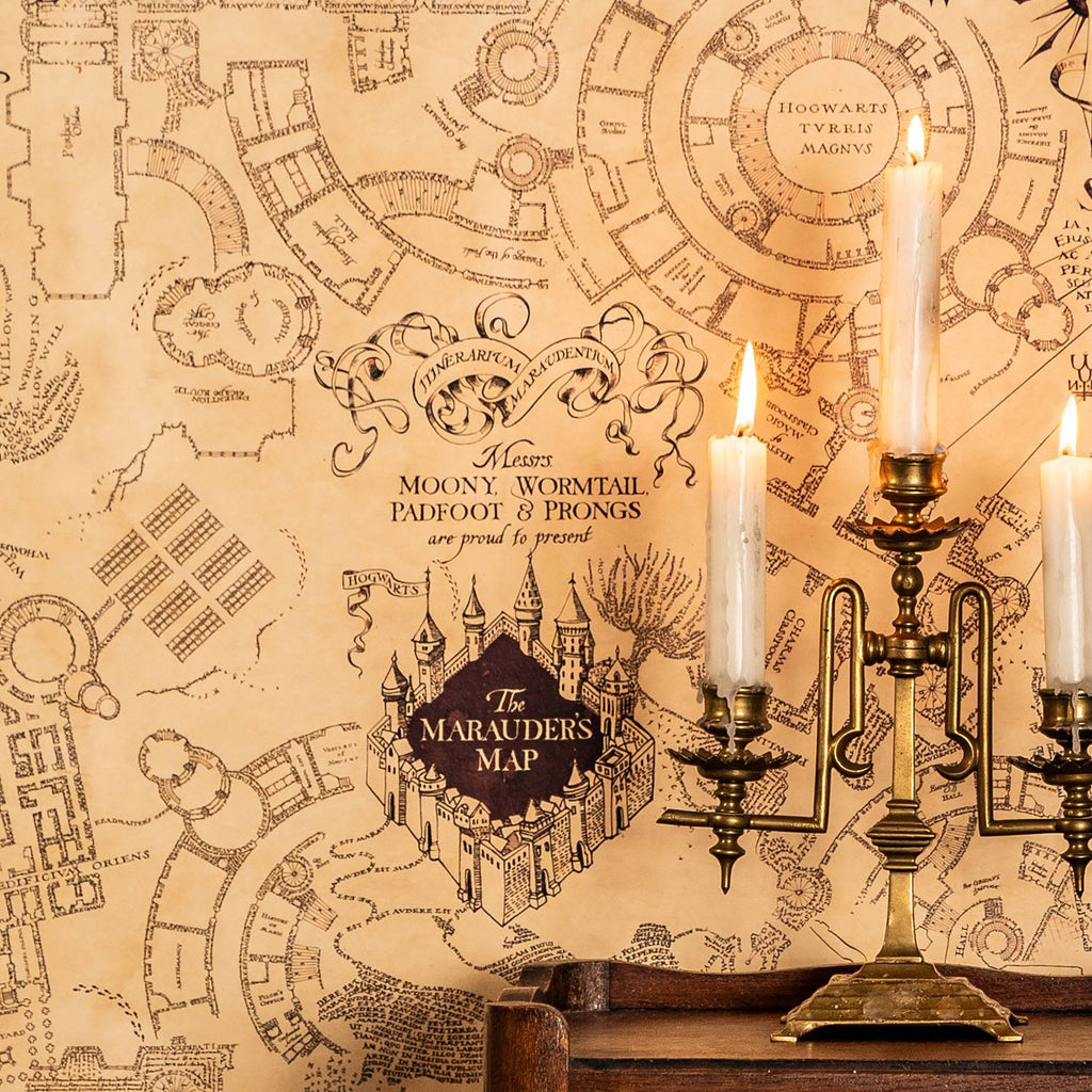 Marauder's Map Wallpaper