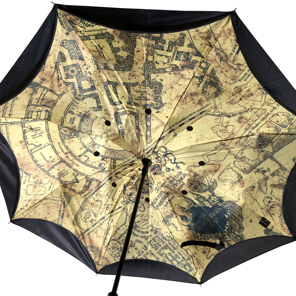 Marauder's Map Reverse Folding Umbrella