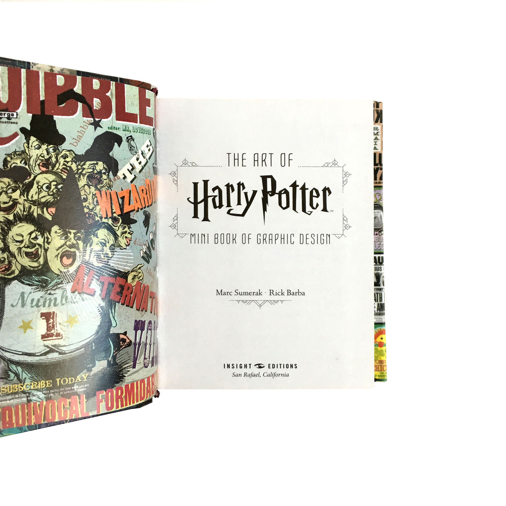 The Art of Harry Potter: Mini Book of Graphic Design