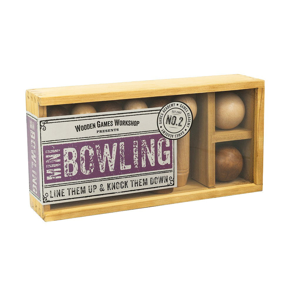 Wooden Games Workshop - Mini Bowling