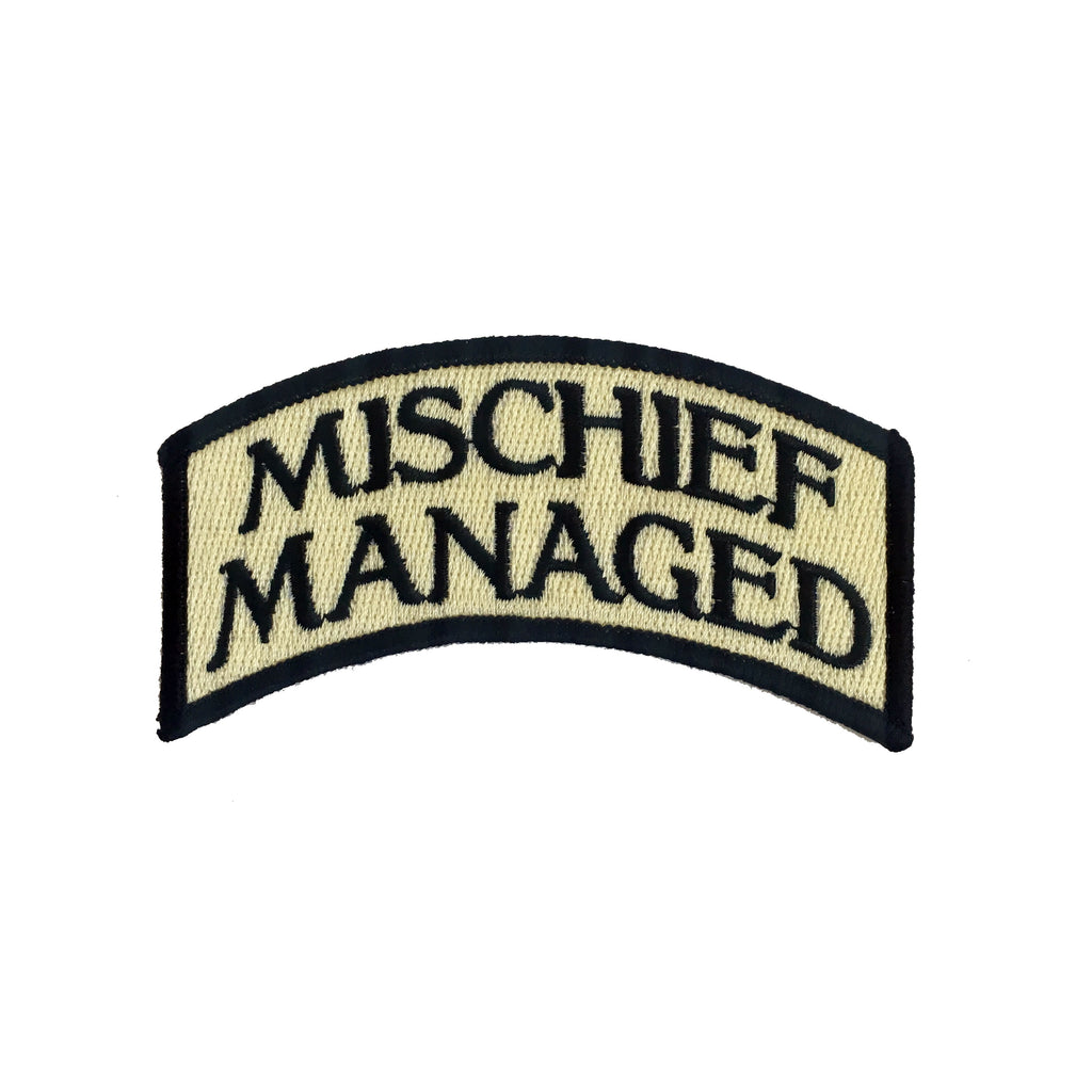 Mischief Managed Iron-On Patch