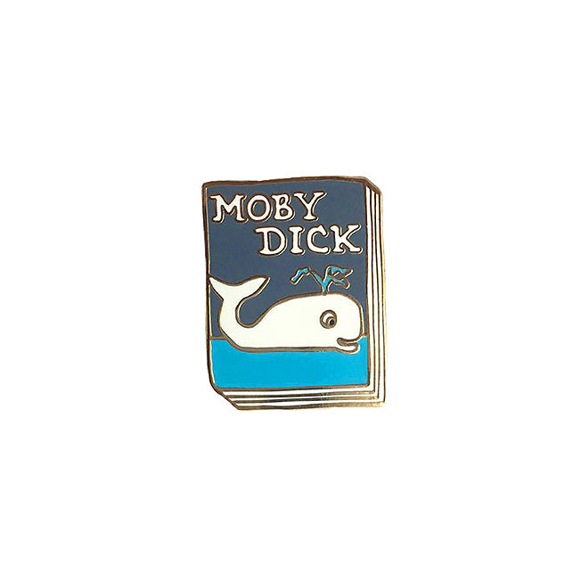 Book Pin - Moby Dick