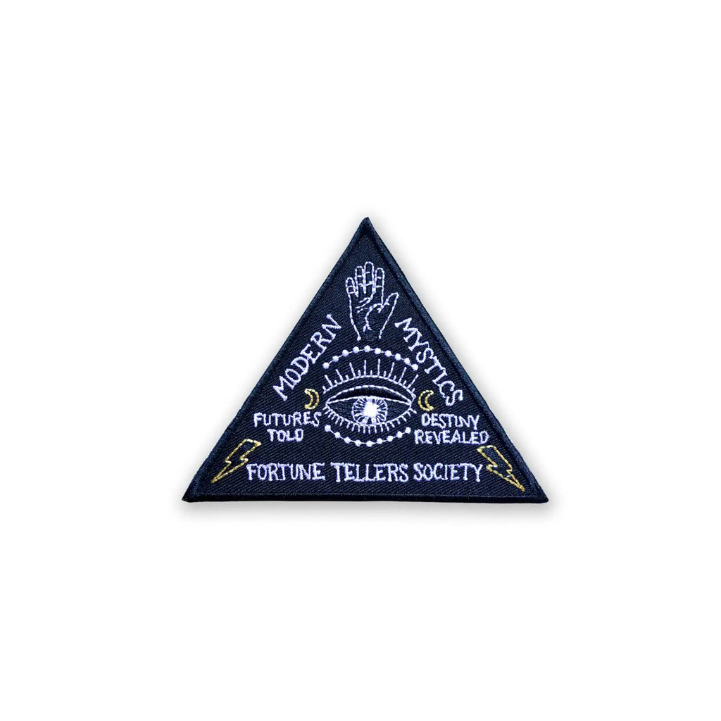 Fortune Tellers Society Embroidered Patch