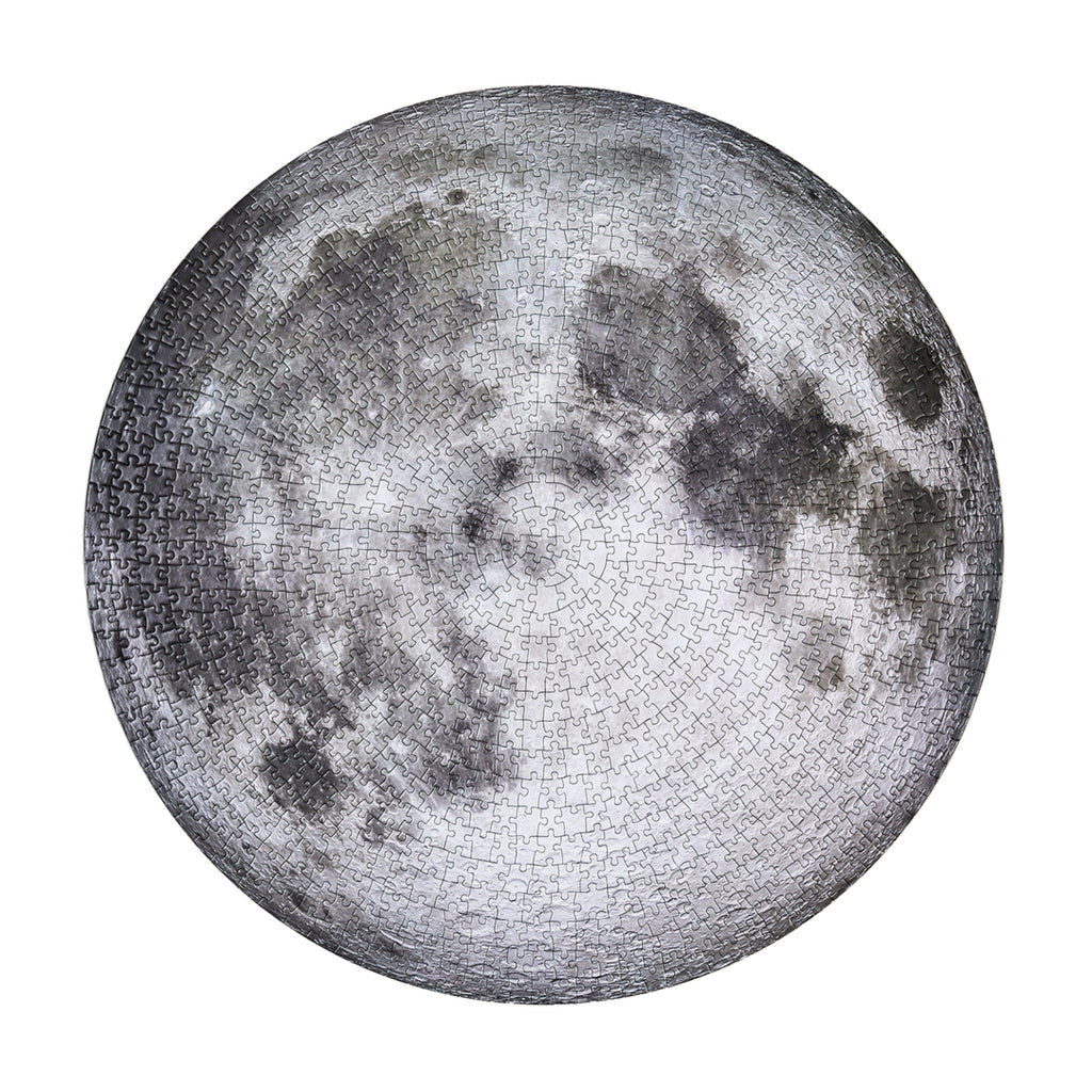 The Moon - 1000 Piece Circular Puzzle