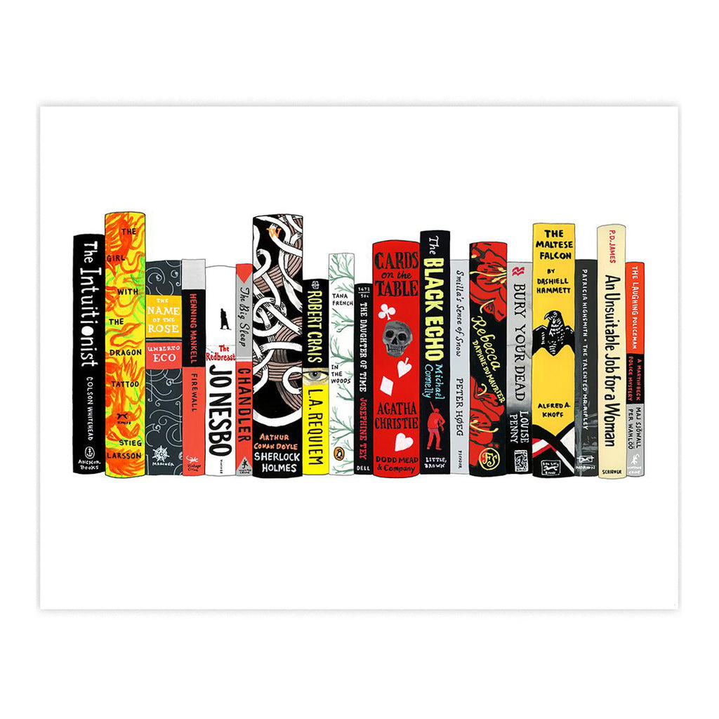 Ideal Bookshelf Art Print - Mysteries
