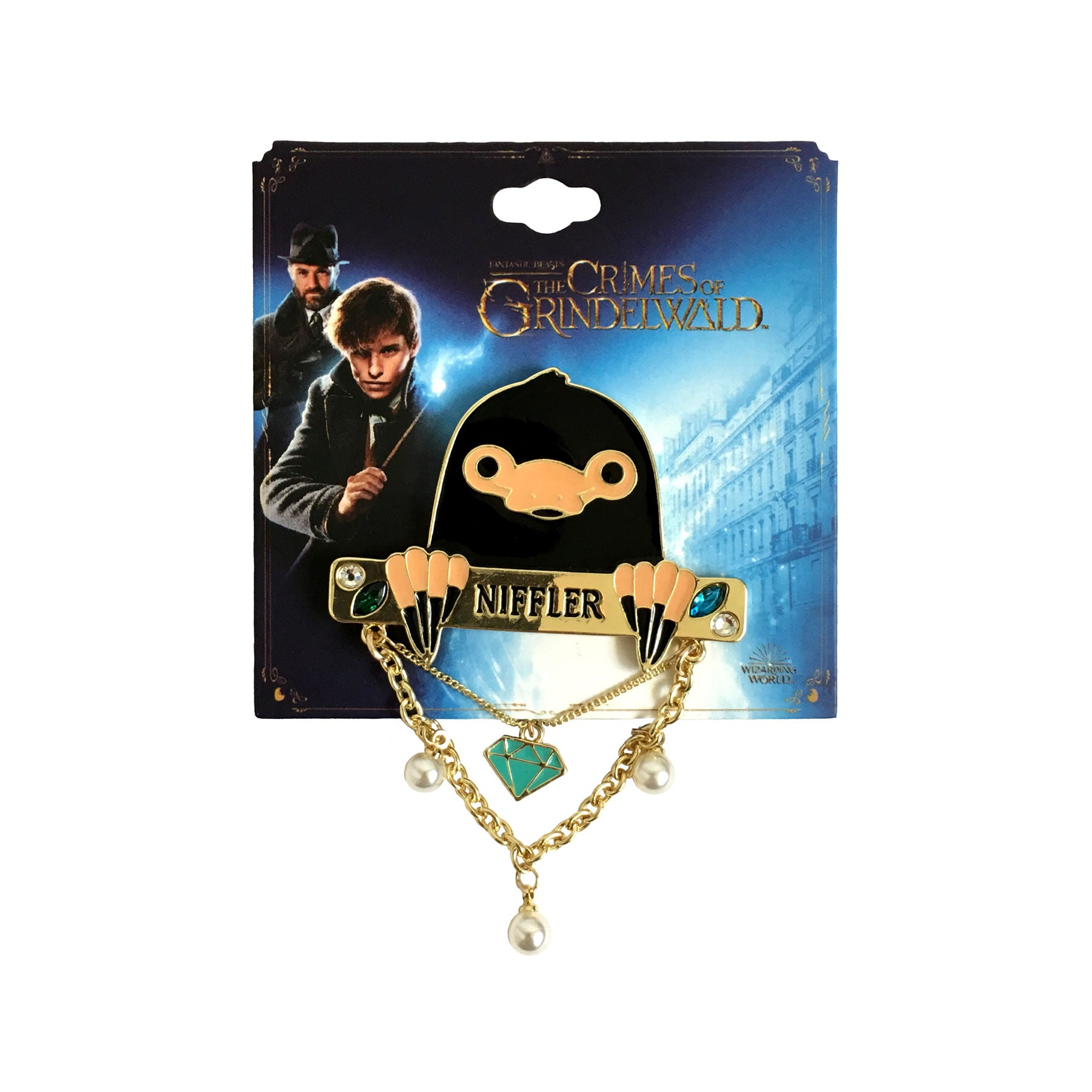 3x Fantastic Beasts and Harry Potter Pin Badges