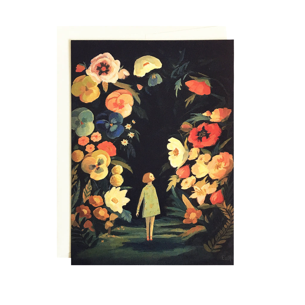 Emily Martin - Night Garden Card