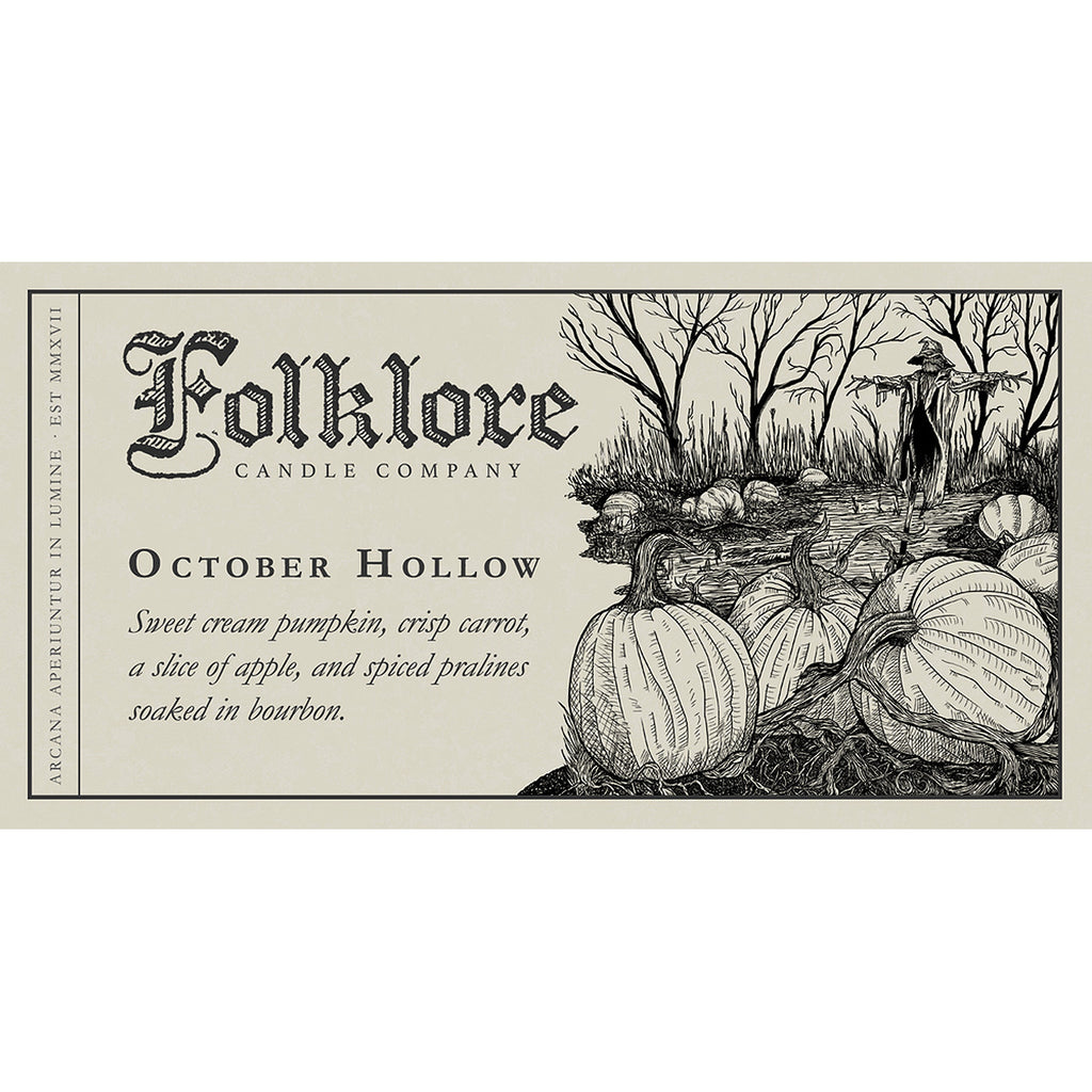 October Hollow - Folklore Candle Company