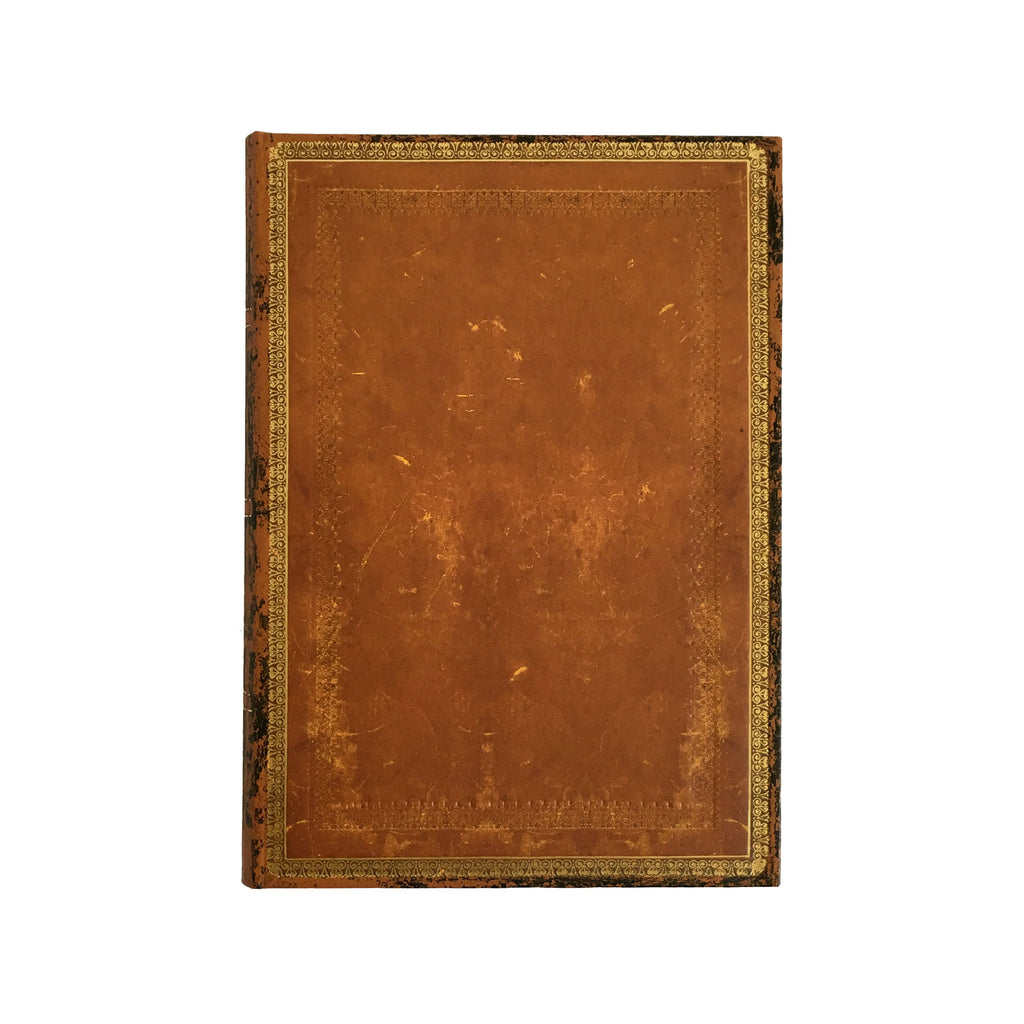 Old Leather Handtooled Midi Journal