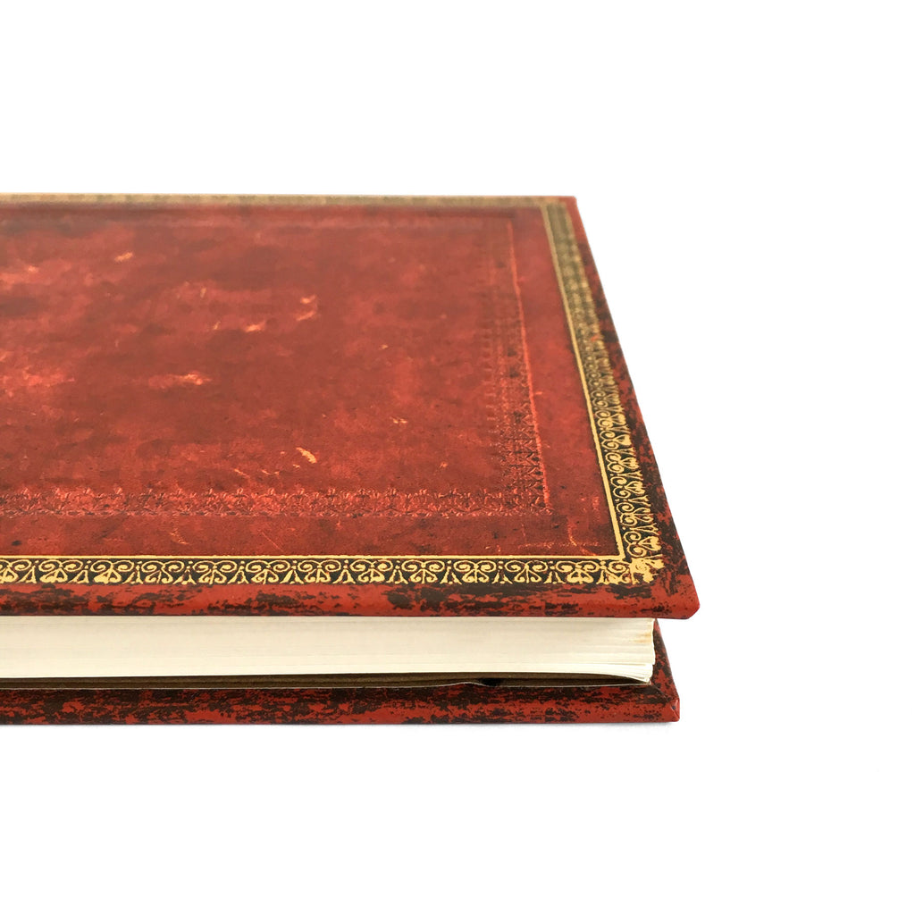 Old Leather Venetian Red Midi Journal