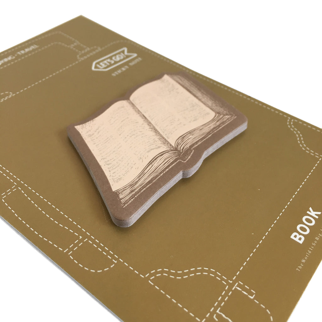 Open Book Sticky Notes