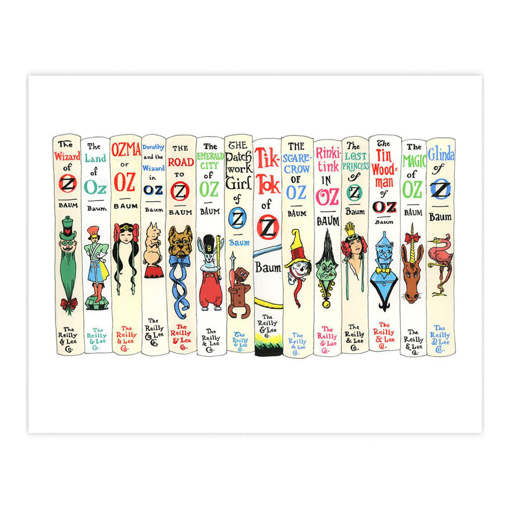 Ideal Bookshelf  Art Print - Oz