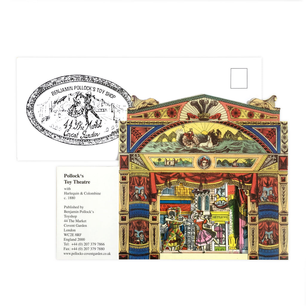 Benjamin Pollock's Toy Shop Diorama Card