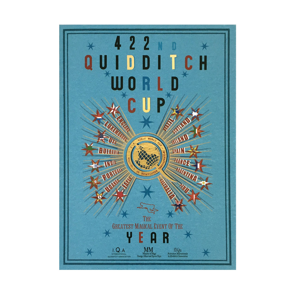 The 422nd Quidditch World Cup Notecard