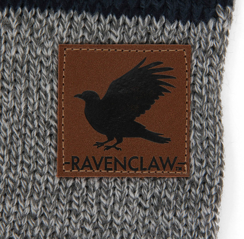 Ravenclaw Heathered Knit Scarf
