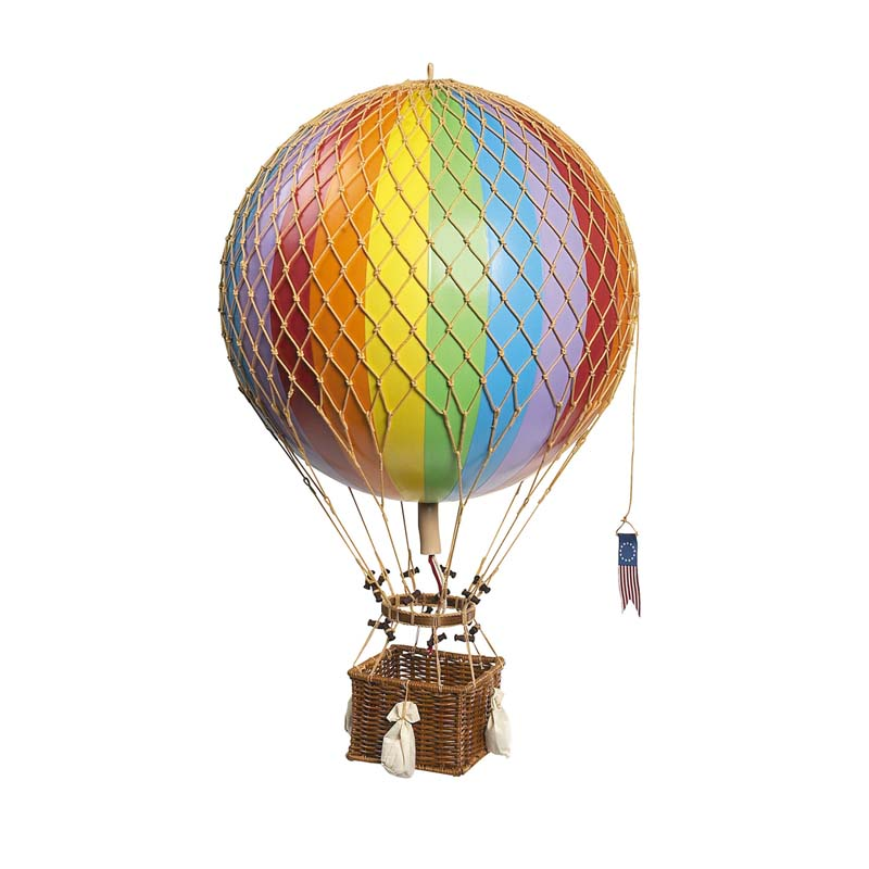 Royal Aero Hot Air Balloon - Rainbow