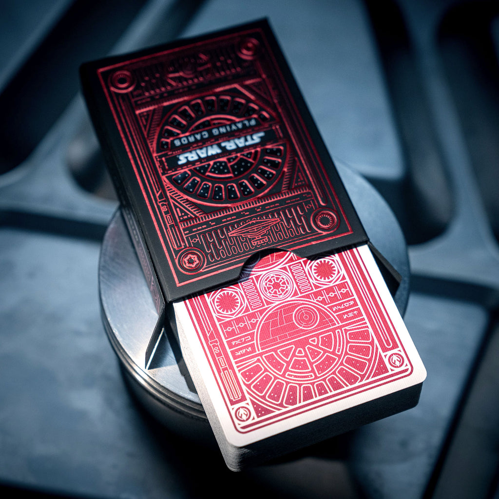 Playing Cards - Star Wars Dark Side (Red)