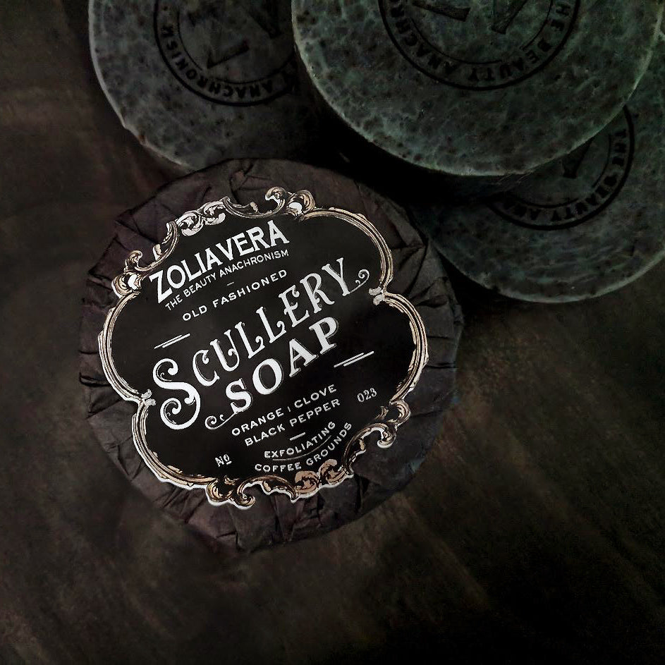 Scullery Exfoliating Bar Soap