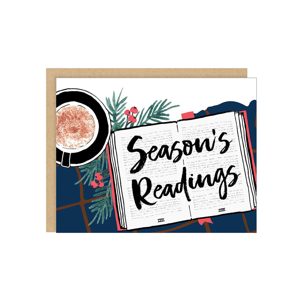 Season's Readings Card