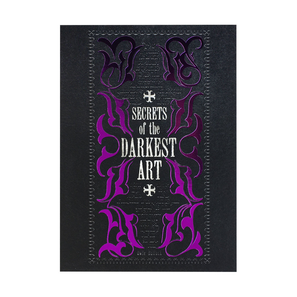 Secrets of The Darkest Art Notecard