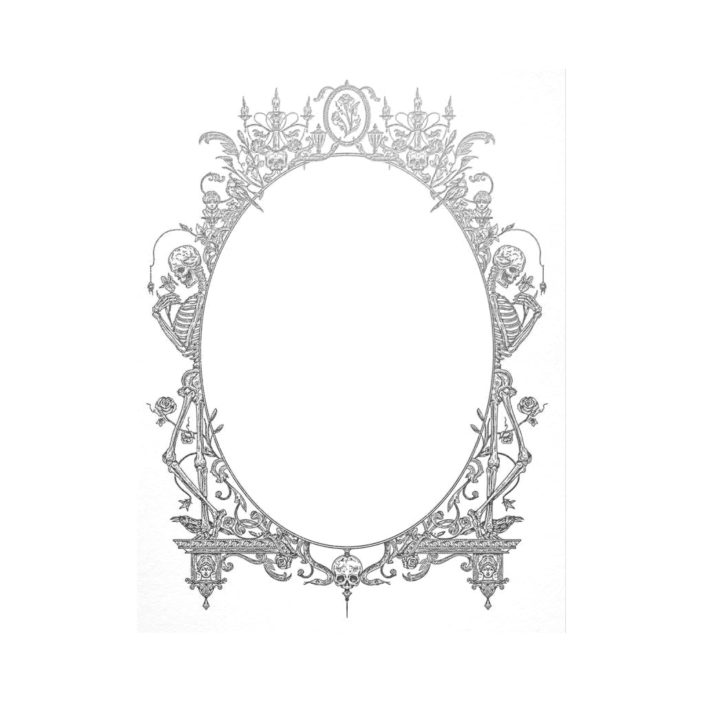 Victorian Frame Card