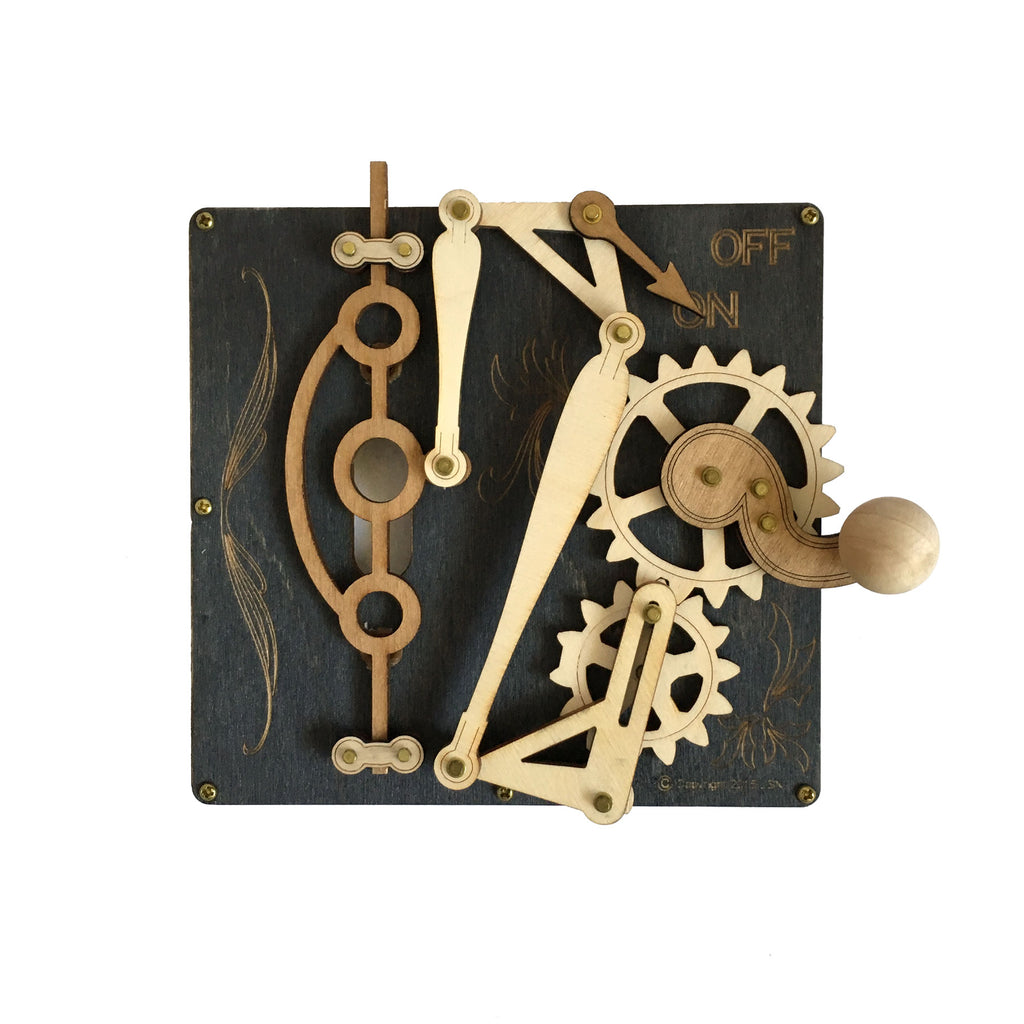 Single Levered Light Switch Plate