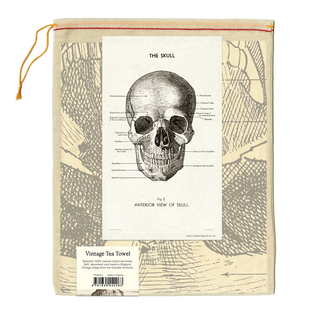 The Skull Tea Towel