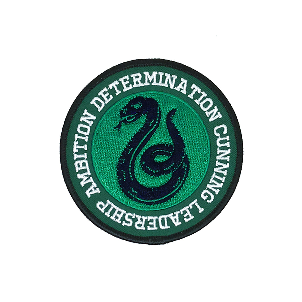 Slytherin Iron-On Patch