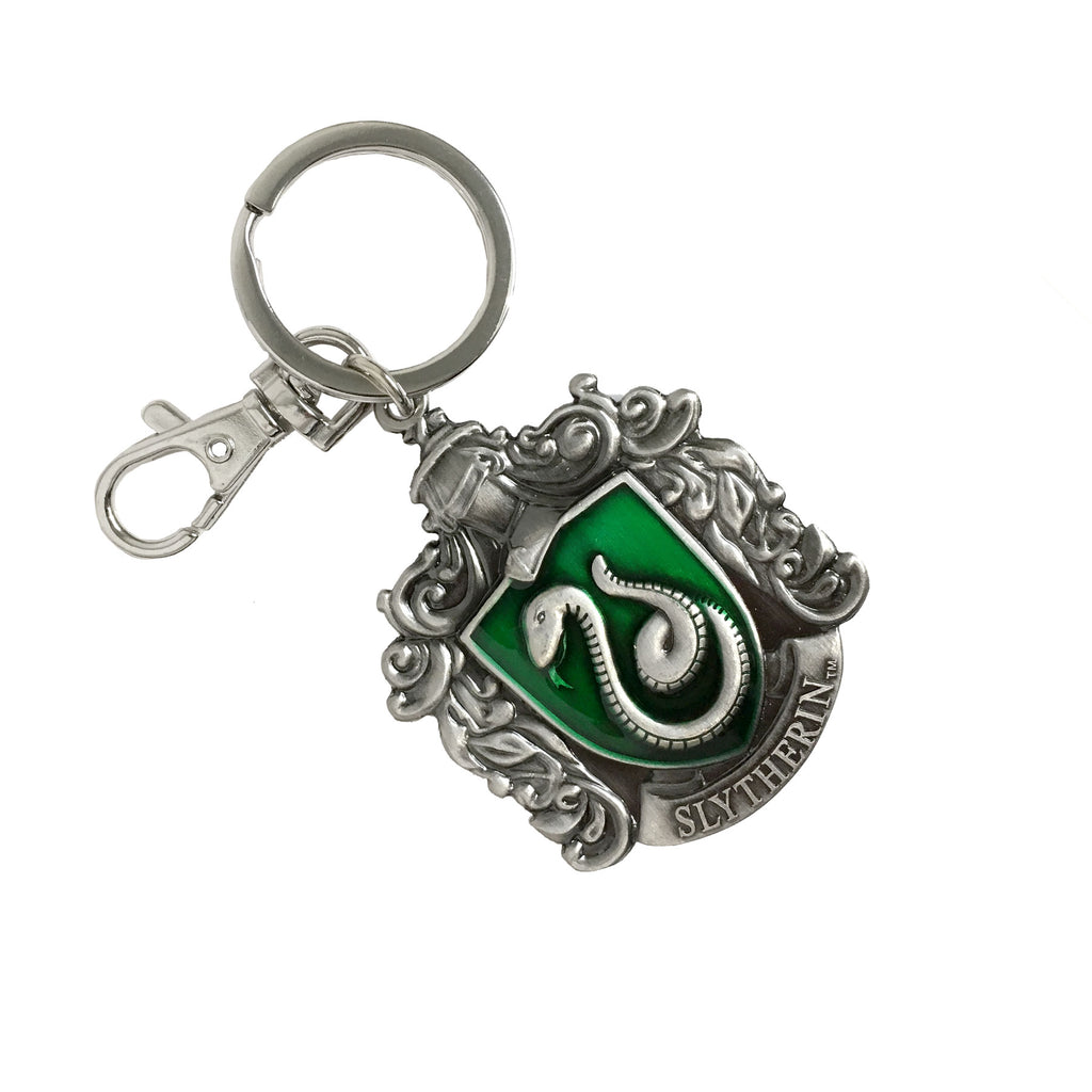 Pewter Key Ring - Slytherin Crest