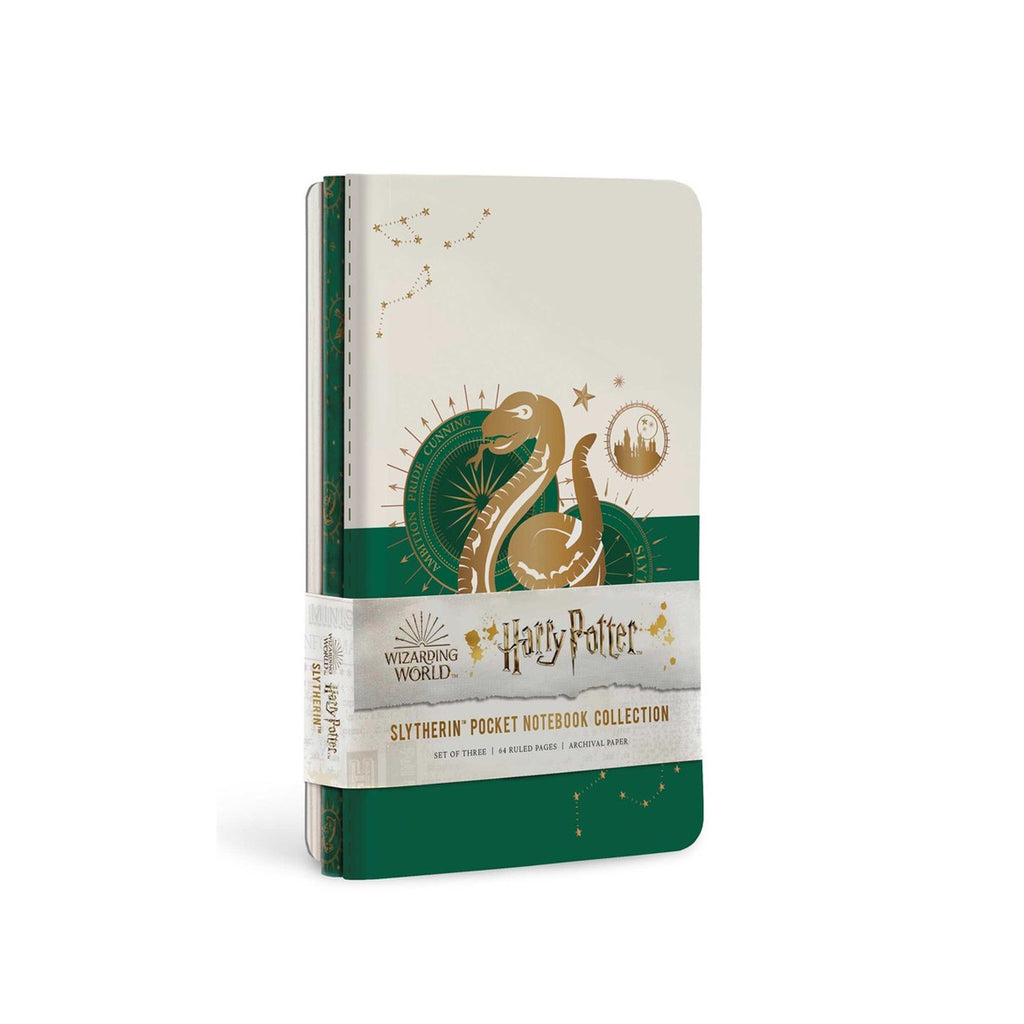 Slytherin Constellation Pocket Notebook Collection, Set of 3