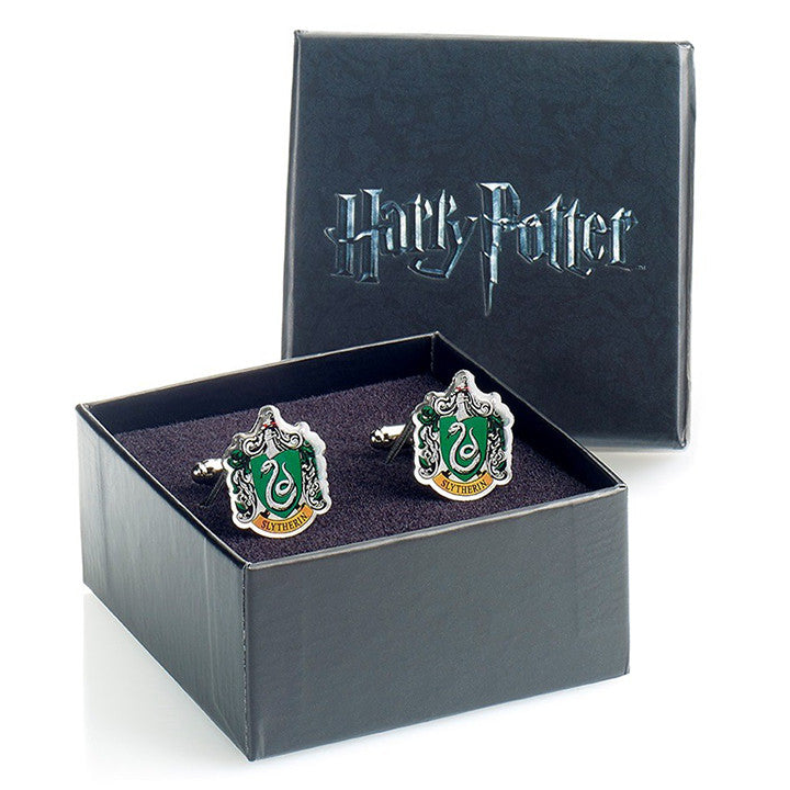Slytherin Crest Cufflinks