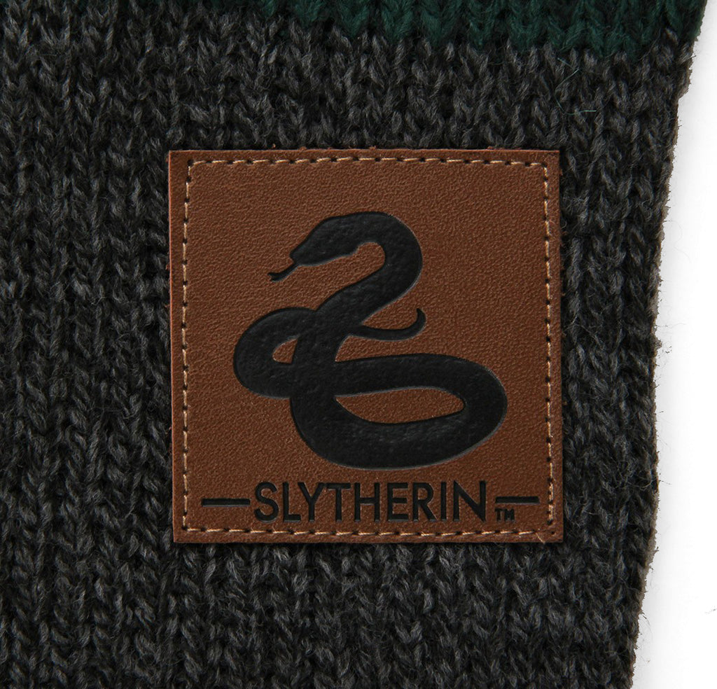 Slytherin Heathered Knit Scarf