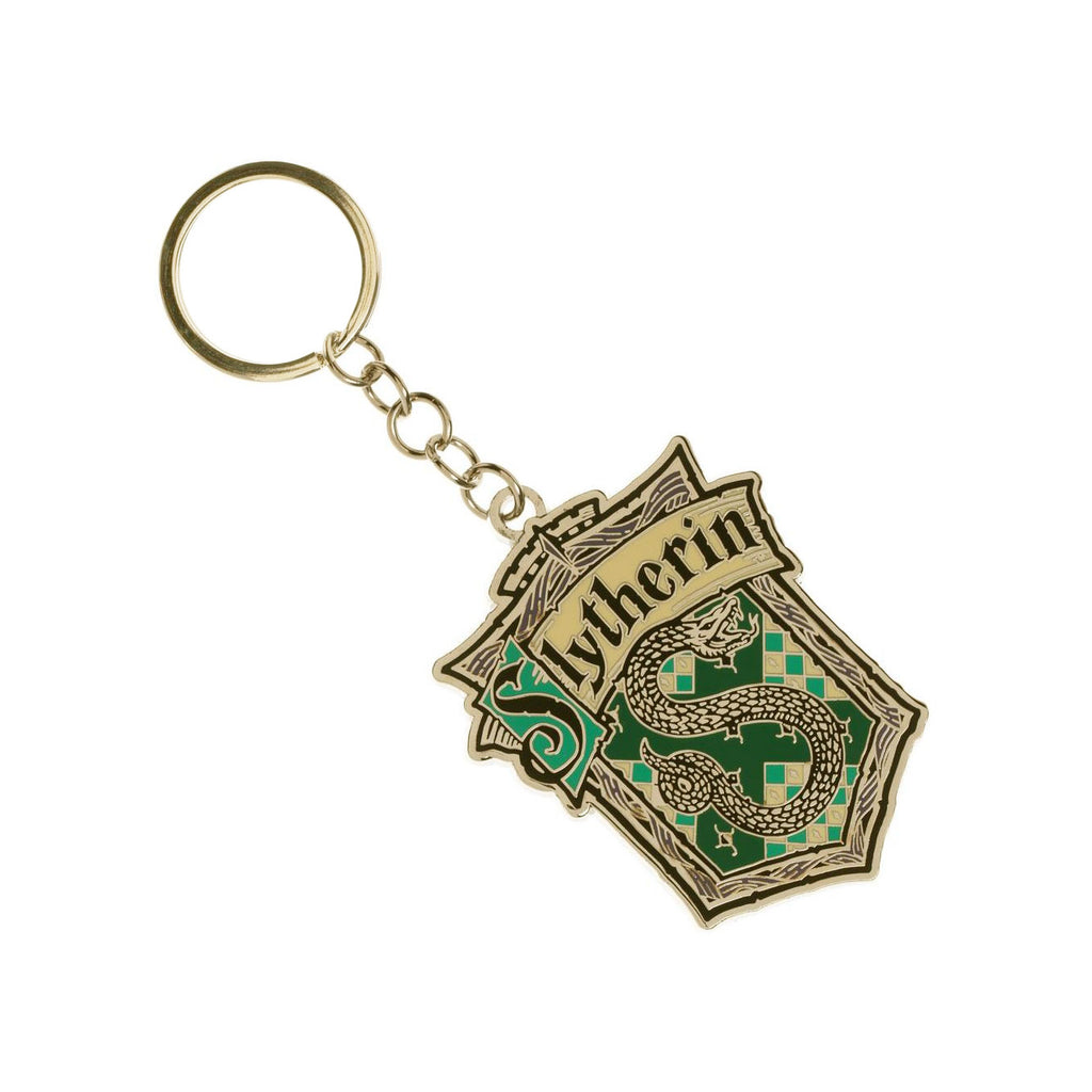 Slytherin House Key Ring