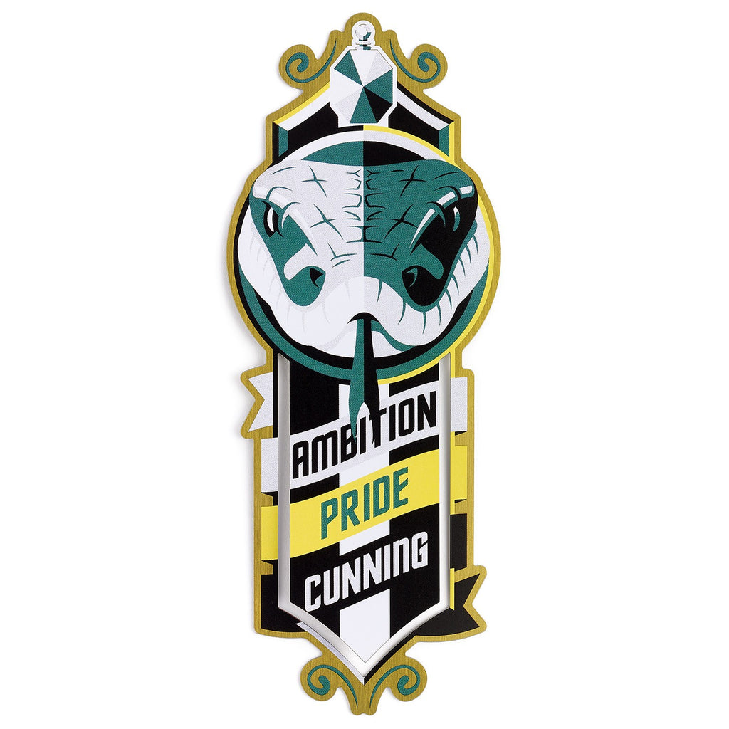 Slytherin Metal Bookmark