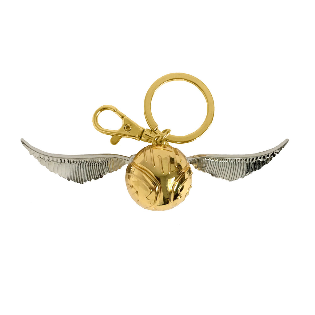 Pewter Key Ring - Golden Snitch