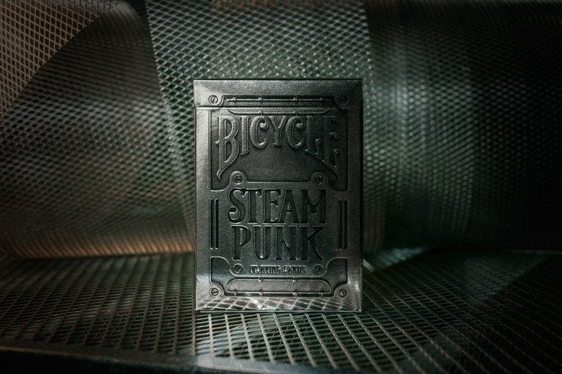Playing Cards - Silver Steampunk